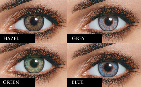 People Can Change Their Eye Colours With Coloured Lenses
